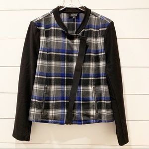 KAREN KANE Lightweight Wool Blend Jacket